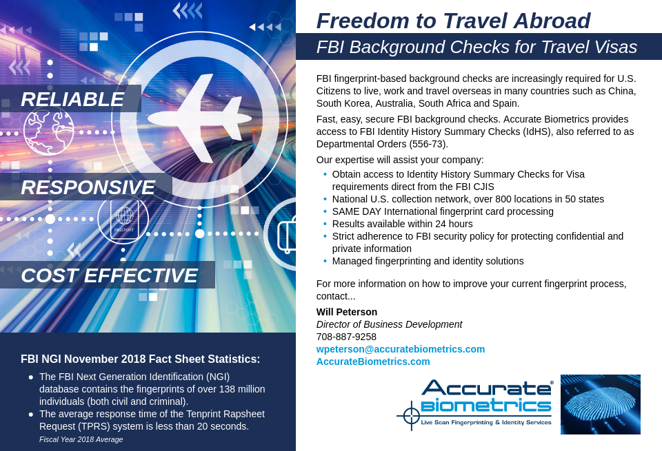 Accurate Biometrics - Airport Industry Review | Issue 42