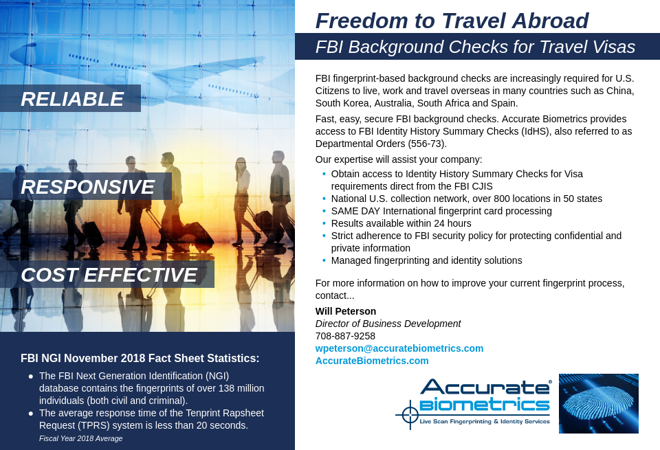 Accurate Biometrics - Airport Industry Review   Issue 40