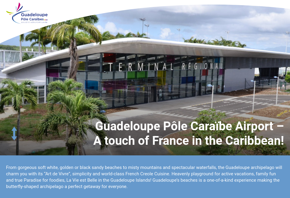 A 233 Roport Guadeloupe P 244 Le Cara 239 Bes Airport Industry