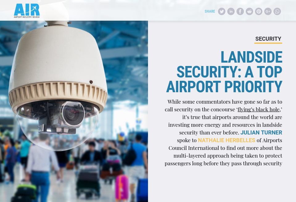 Landside security: a top airport priority - Airport Industry Review