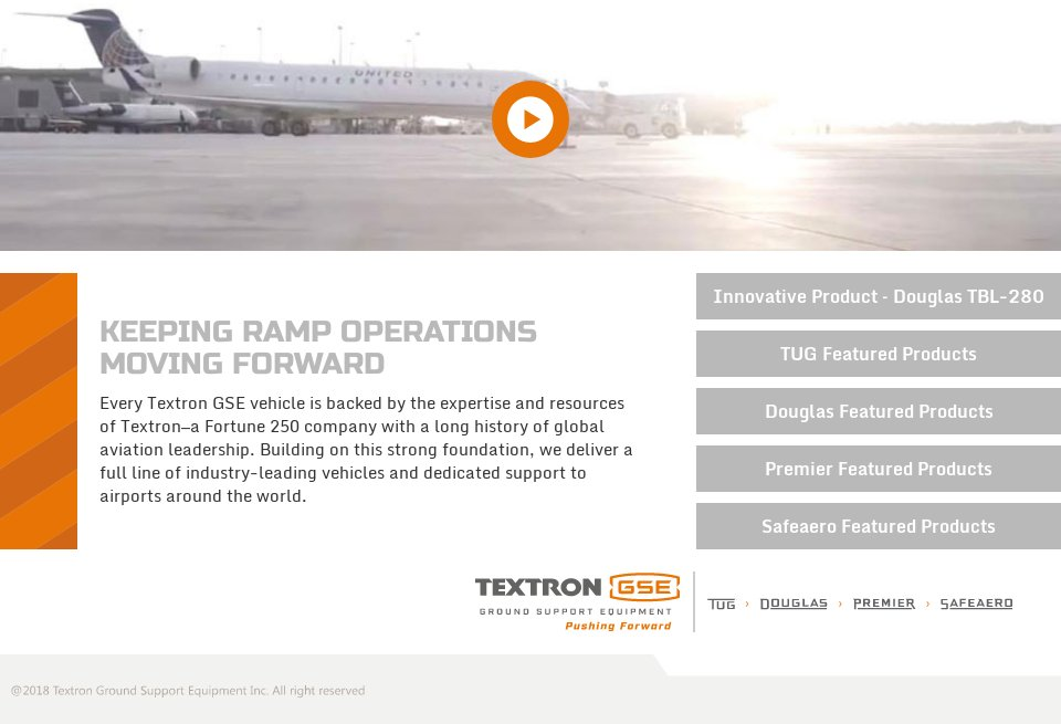 Textron - Airport Industry Review | Issue 47 | September 2019